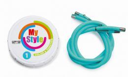 Reflexní gumièky CASCO MY STYLE modrá/azuro