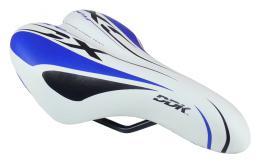 Sedlo DDK D1217A dìtské bílá/modrá