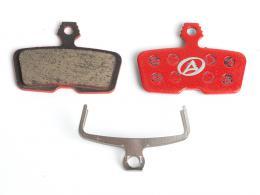 Brzdové destièky AUTHOR ABS-66S AVID CODE R èervená