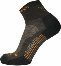 Ponožky NORTHMAN MULTISPORT EXTREME hnìdá/èerná - zvìtšit obrázek