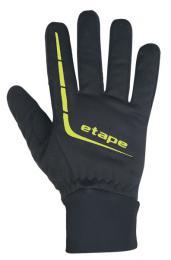 Rukavice ETAPE GEAR WS+ pánské èerná/žlutá fluo