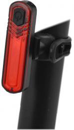 Blikaèka zadní MAXBIKE dobíjecí JY-6056, vysoce svítivá