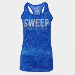 Dámské RUN tílko SWEEP SWTS074 modré