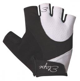 Etape - dámské rukavice RIVA, èerná/bílá