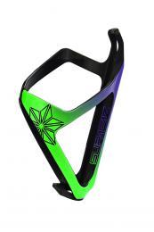 Košík na láhev Supacaz Tron zeleno-fialový