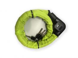 Zámek AUTHOR ACL-80 lano zelená-neon