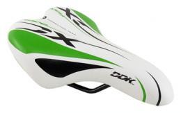 Sedlo DDK D1217A dìtské bílá/zelená