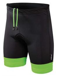 Kalhoty ETAPE JUNIOR s vložkou èerná/zelená