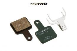 Brzdové destièky TEKTRO TK-S20.11 -VOLANS (2ks) zelená