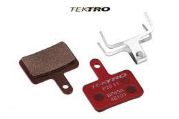 Brzdové destièky TEKTRO TK-P20.11 -ORION (2ks) èervená