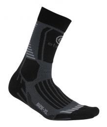 Ponožky ETAPE CROSS èerná/šedá