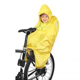 Poncho pláštìnka FORCE na dítì v sedaèce žlutá - zvìtšit obrázek