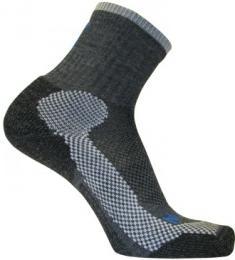 Ponožky NORTHMAN TREKKING LIGHT MERINO CREW antracit/šedá - zvìtšit obrázek