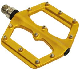 Pedály ZERAY ZP-D262 BMX platformy s piny zlatá