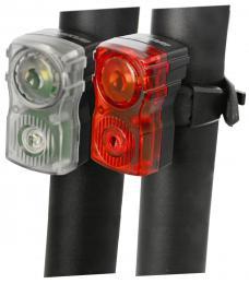 Sada blikaèek MAXBIKE - dobíjecí JY-6131, vysoce svítivé