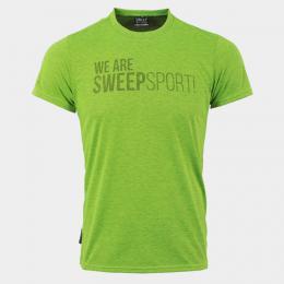 Triko SWEEP SMTS072 zelený fluo melír