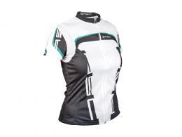 Dres Lady Sport 18A bílá/zelená/èerná