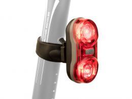 Svìtlo zad. A-Duplex X7 20lm èerná/èervené-sklo