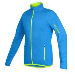 Etape - dìtský dres BONO, modrá melír/žlutá fluo