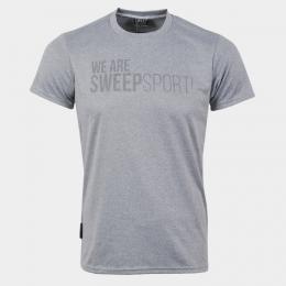 Triko SWEEP SMTS074 svìtle šedý melír