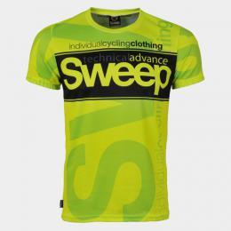 Triko SWEEP SMTS041A žlutá fluo