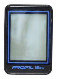 cyklocomputer PROFIL-1501 12SW bezd. èerno-modrý