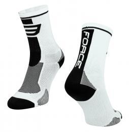 Ponožky F LONG, bílo-èerné