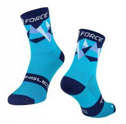 Ponožky F TRIANGLE, modré S-M/36-41