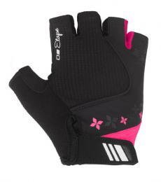 Etape - dámské rukavice AMBRA, èerná/rùžová