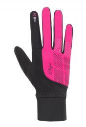 Rukavice Etape - rukavice SKIN WS+,èerná/rùžová